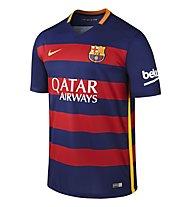 Nike 2015/16 FC Barcelona Stadium Home - Fußballtrikot, L. Blue/S. Res/U. Gold