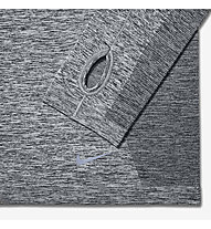 Nike Dri-FIT Knit Long Sleeve maglia running donna, Grey Melange