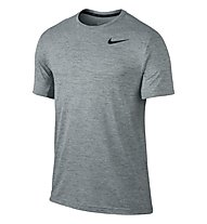 Nike DRI-FIT Training SS T-Shirt, Cool Grey