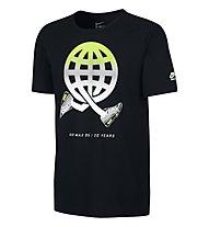 Nike Globey Air Max 95 T-Shirt, Black/Volt/White