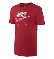 Nike Hybrid Futura T-Shirt, University Red/Black
