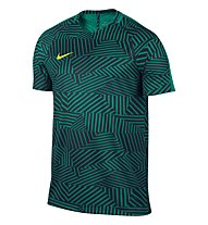 Nike Dry Squad Top Herren-Fußballtrikot, Teal Green