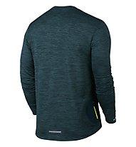Nike Therma Sphere Element - Laufshirt Langarm Herren, Midnight Turquoise