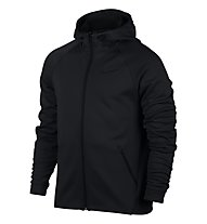 Nike Men Therma-Sphere Training Hoodie Giacca con cappuccio fitness, Black