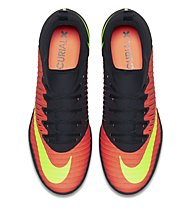 Nike MercurialX Finale II IC - scarpe calcetto indoor, Black/Red