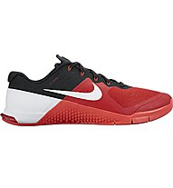 Nike Mecton 2 - Trainingsschuhe, Gym Red/White