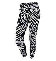 Nike Power Epic Lux Crop Laufhose Damen, White/Black