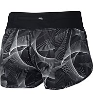 Nike Flex Running Short 3in Rival - pantaloncini running donna, Black