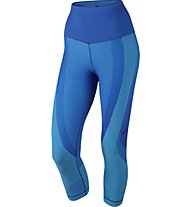 Nike Women's Nike Sculpt Training Capri  Pantaloni corti fitness donna, Blue