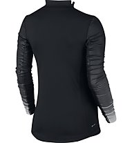Nike Women's Nike Pro Hyperwarm Top Maglia a maniche lunghe fitness donna, Black