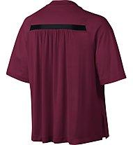 Nike Women's Sportswear Bonded Top T-Shirt fitness donna, Violett