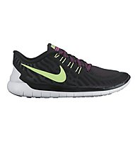 Nike Nike Free 5.0 scarpa running donna, Black/Fuchsia