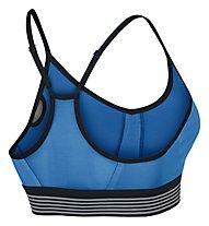 Nike Women's Nike Pro Cool Indy Sports Bra Reggiseno Sportivo, Blue