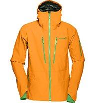 Norrona Lofoten GORE-TEX PRO giacca freeride, Orange
