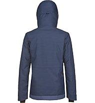 O'Neill Almandine giacca snowboard donna, Blue AOP