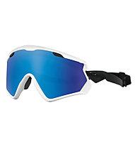Oakley Wind Jacket 2.0 - Skibrille, White
