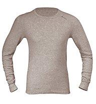 Odlo Shirt L/S Warm, Grey Melange