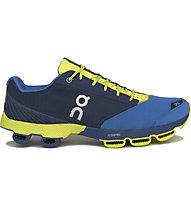 ON Cloudster - scarpe running, Denim/Lime