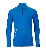 Ortovox 230 Competition Zip Neck Merino-Funktionsshirt, Blue Ocean