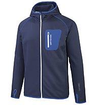 Ortovox Hoody Men SP - giacca in lana merino uomo, Blue