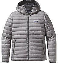 Patagonia M's Down Sweater Hoody Giacca Piuma, Grey