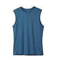 Patagonia Fore Runner Sleeveless Shirt, Underwater Blue