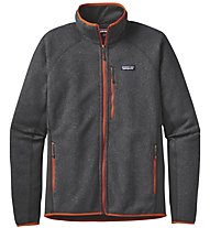 Patagonia Ms Performance Better Sw.jkt Giacca in pile trekking, Grey