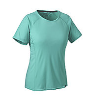 Patagonia Capilene Lightweight T-Shirt trekking Donna, Howling Turquoise