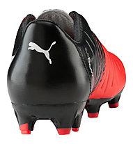 Puma evoPower 3.3 Tricks FG - scarpa da calcio terreni compatti, Red/Black