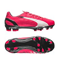 Puma EvoSpeed 4.3 FG JR - scarpa da calcio bambino, Light Red