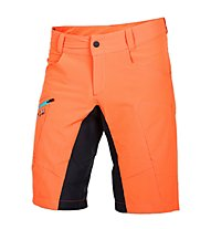 Qloom Busselton shorts with Innershorts, Flame