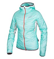 Qloom W's Jacket Thermo HONEY, Blue Light