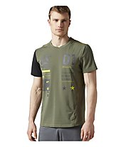 Reebok One Series Activ Chill Breeze Top T-Shirt fitness, Green