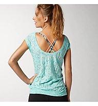Reebok OS Burnout T-Shirt, Crystal Blue