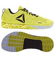 Reebok R Crossfit Nano 6.0 - scarpe da ginnastica, Yellow/Black