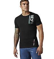 Reebok Crossfit Cordura T-shirt Crossfit, Black