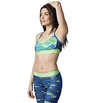 Reebok Workout Ready Skinny - reggiseno sportivo, Seafoam Green