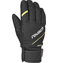 Reusch Guanti sci Luke R-Tex XT, Black/Neon Yellow
