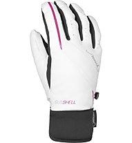 Reusch Mirella GTX Skihandschuh Damen, White/Knockout Pink