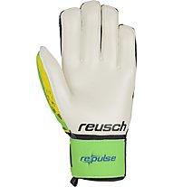 Reusch Repulse SG Finger Support - guanti portiere, Green/Yellow