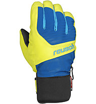 Reusch Torbenius R-TEX XT Junior (2013), Imperial Blue/Neon Yellow