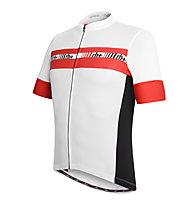 rh+ Maglia bici Academy, White/Red