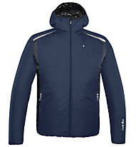 rh+ Giacca sci Pack Blend Hooded Jacket, Blue/Anthracite