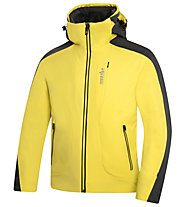 rh+ Giacca sci Rider Jacket, Light Yellow/Royal