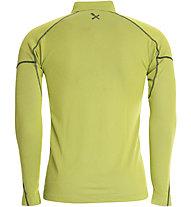 Rock Experience Infinity 1/2 Zip Shirt Langarm, Lime Punch