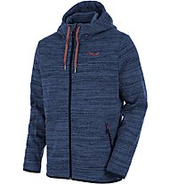 Salewa Fanes Pl M Fz Hdy Giacca in pile, Blue