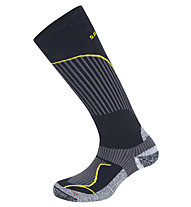 Salewa FSM Warm Merino Socks, Black/Yellow
