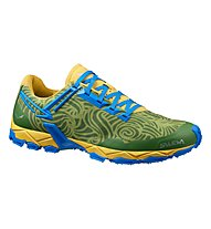 Salewa MS Lite Train - scarpa uomo, Mayan Blue/Papaya