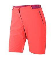 Salewa Pedroc DST - Pantaloni corti trekking donna, Hot Coral