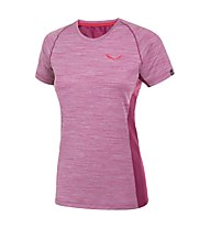 Salewa Pedroc DRY T-Shirt trekking donna, Red Onion
